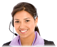 Call Centre Woman Image